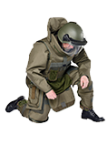Mine Clearing Suit